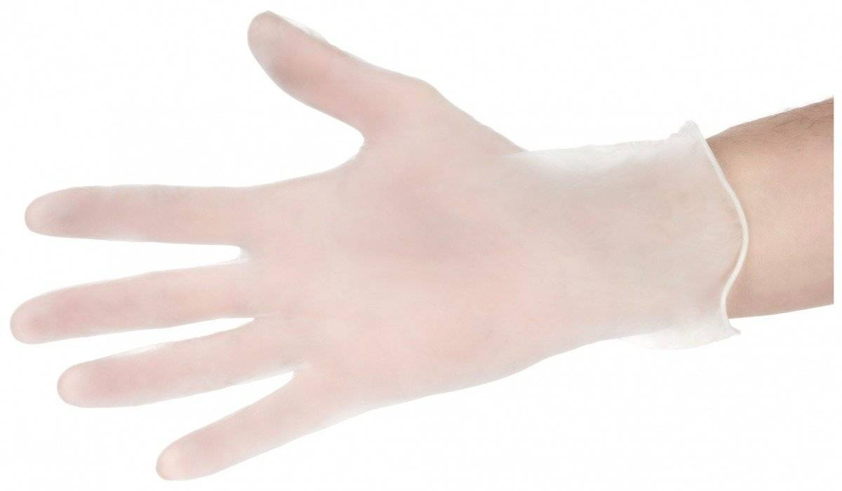 1000 szt. Rękawice Winylowe Bezpudrowe - 10 x 100 sztuk - rozmiar M