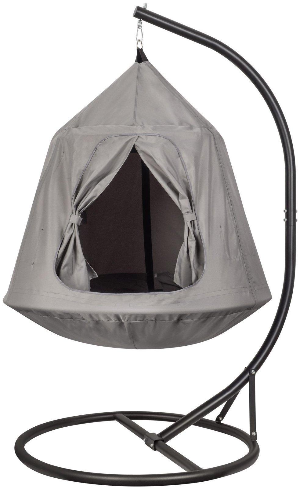 Błogi bujak - wiszący namiot dla dzieci i młodzieży - huśtawka, hamak do domu i ogrodu
