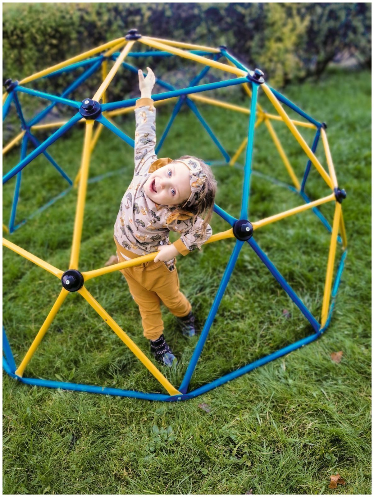 Drabinka CLIBMBER - kopuła do wspinaczki, geodome, ogrodowy plac zabaw