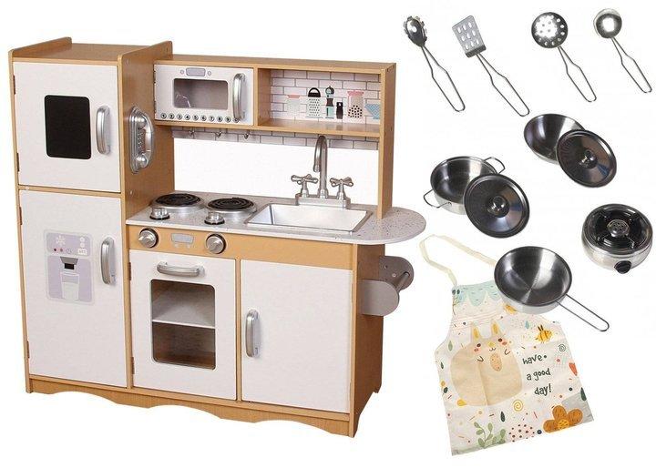 Drewniana kuchnia maxi do zabawy
