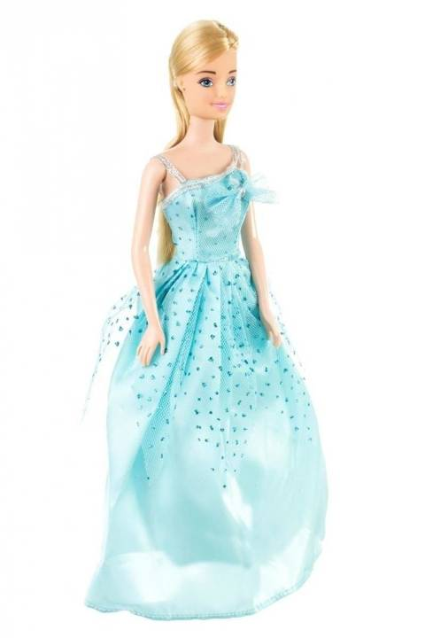Lalka Anlily - Słodka Księżniczka - suknia niebieska