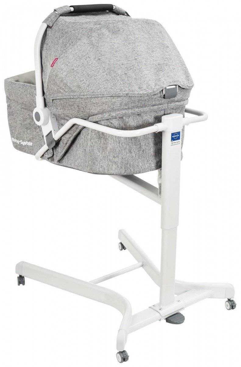 PRIORI - Wielofunkcyjne łóżeczko + krzesełko do karmienia
