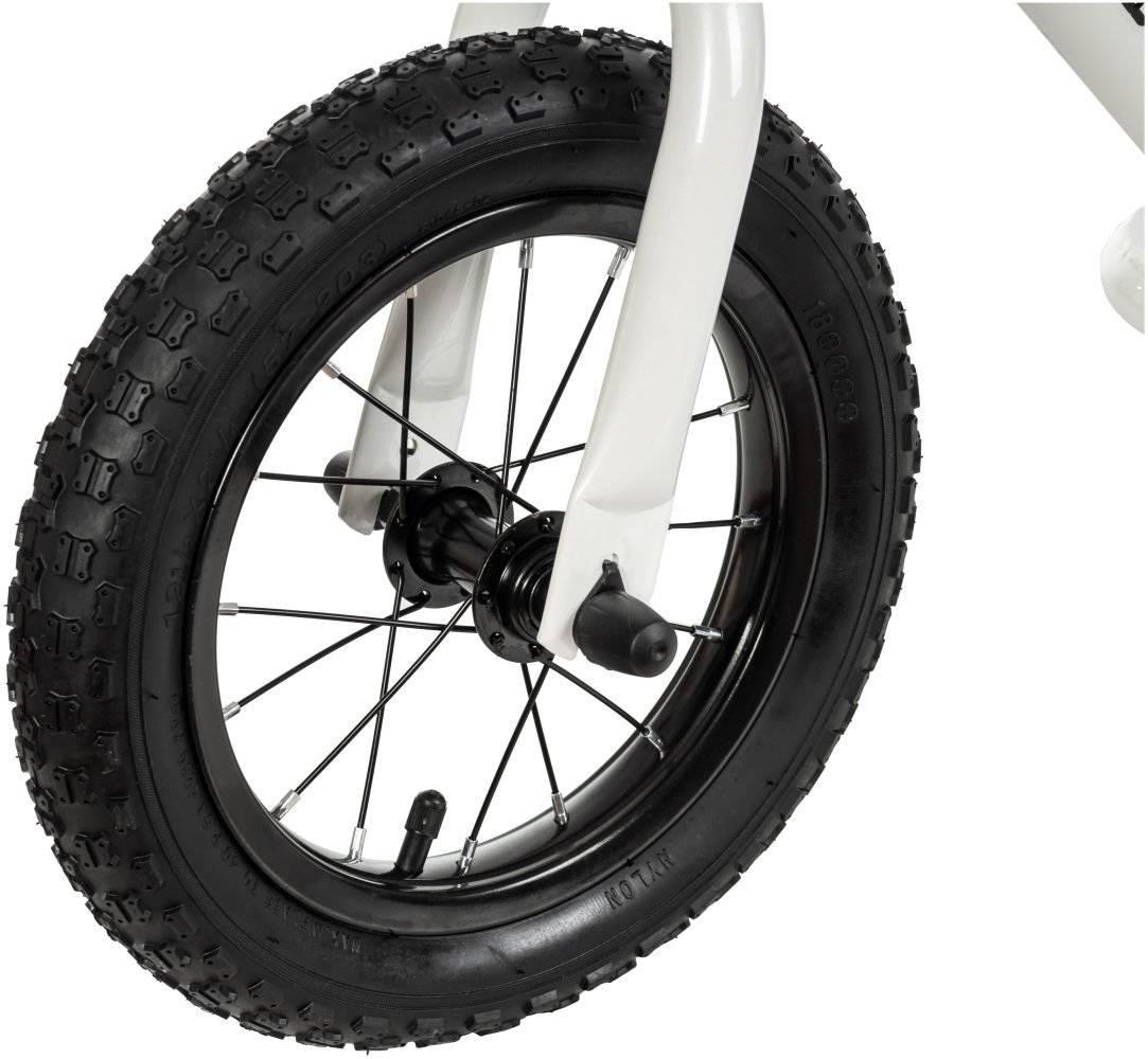 Rowerek biegowy HyperMotion VILANO AIR - pompowane koła - biały