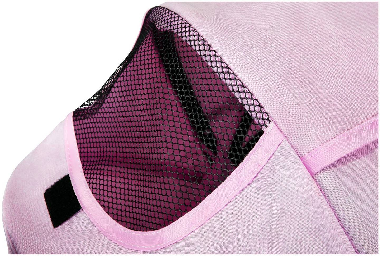 Rowerek trójkołowy Tobi Velar + folia przeciwdeszczowa - różowy