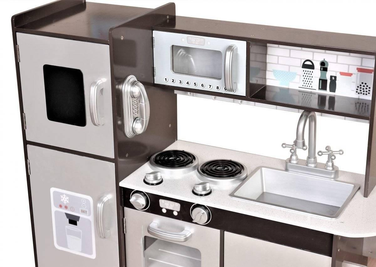 Wielka drewniana kuchnia dla dzieci - XXL
